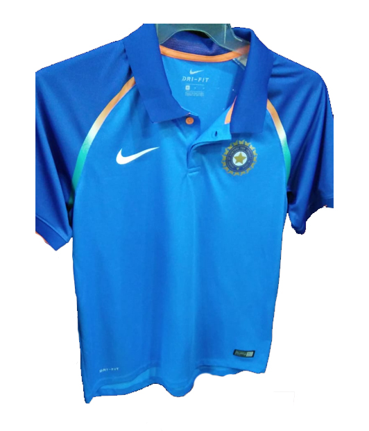 85b87524 The Official Nike Team Indian Cricket Jersey